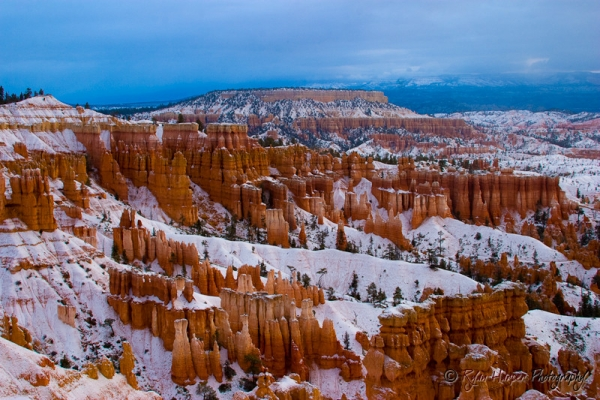 Bryce Canyon in February